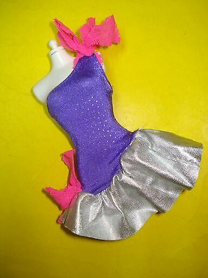 Jem and the Holograms 80s Doll Clothes ROCK N CURL DRESS