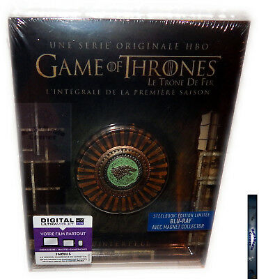 Game of Thrones  - Staffel/Season 1 [Blu-Ray] Steelbook & Magnet,Deutsch(er) Ton