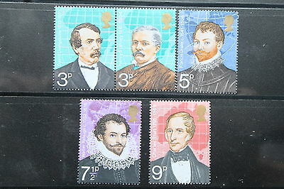 British Explorers 1973 -  MNH Set  # 611