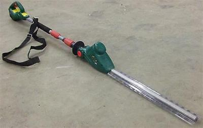 Boxed Qualcast M0E-7ET-410 Garden 18v Battery Pole Hedge Trimmer Cordless