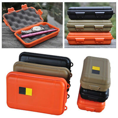 1Pc Safety Camping Outdoor Travel Storage Box Waterproof Survival Case Container