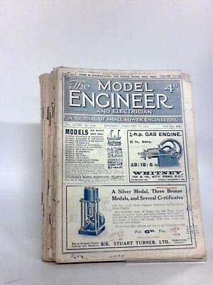 The Model Engineer and Electrician 8 x issues various d Book (Anon) (ID:96076)