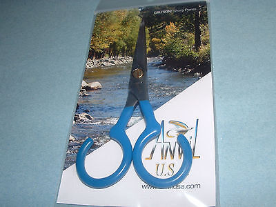 Anvil USA 70-A Ultimate Straight Scissors Fly Tying Crafts Sewing Made in USA