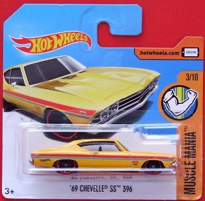 Hot Wheels 2017   ´69 CHEVELLE SS 396   263/365 NEU&OVP