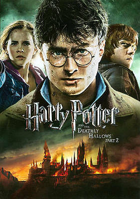 Harry Potter and the Deathly Hallows: Part II (DVD, 2011) Daniel Radcliffe,  NEW