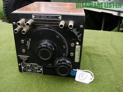 *Vintage **USA** General Radio Co. Variable Inductor Type: 107 (L) Wood Cabinet