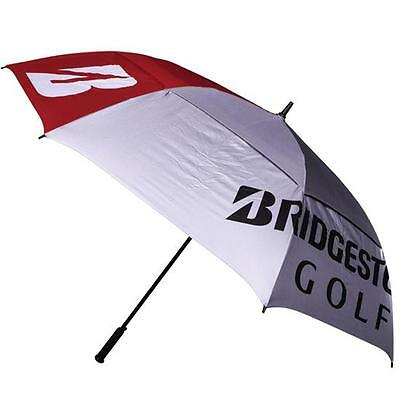 "Bridgestone Golf Double Canopy 68"" UV Umbrella - HEAVY DUTY - FREE POSTAGE"