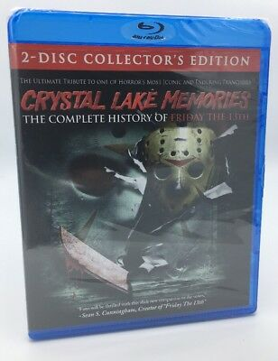 Crystal Lake Memories: Complete History of Friday the 13th [2015] Blu-ray+DVD