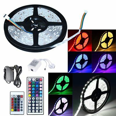 1m-30m LED Strip RGB SMD5050 30/60 LEDs Streifen Band Leiste + Controller+ Trafo