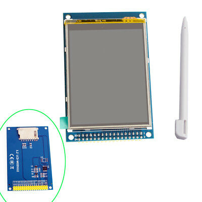 """3.3V 3.2"""" TFT LCD Display Shield Module w/ Touch Pen For Arduino"""