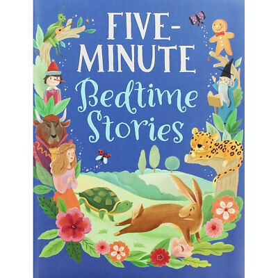 Five Minute Bedtime Stories (Hardback), Children's Books, Brand New