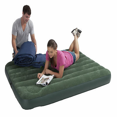 Intex Double Full Downy Airbed with Foot Pump Bedroom Comfortable Air Bed
