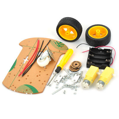 Motor 2WD Smart Robot Car Chassis Kit Speed Encoder Battery Box For Arduino