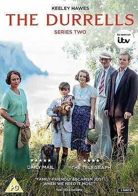 The Durrells Season Series 1 + 2 one & Two DVD R4 New Sealed