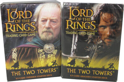 Herr der Ringe The Two Towers Themendeck Set, englisch