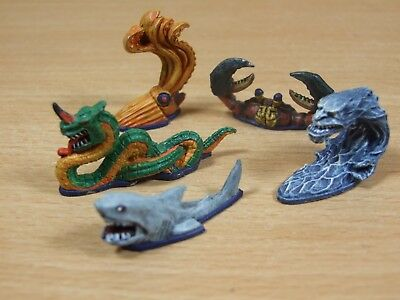 Classic Metal Warhammer Man O War Monsters Of The Sea Well Painted (482)