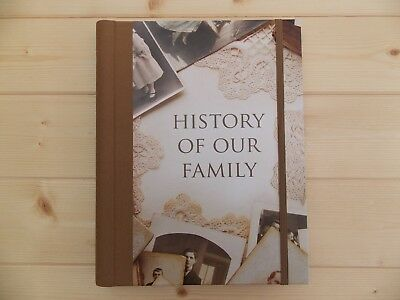 New Grandparents / Parents Family History Memory Journal Keepsake Record Book