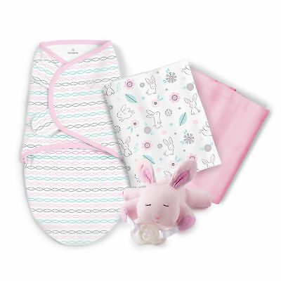 New SwaddleMe Little Lovey Bunny Gift Set Model:540DC5CB