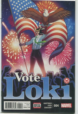 VOTE LOKI #4 NEAR MINT 2016 UNREAD MARVEL COMICS bin-2017-6168