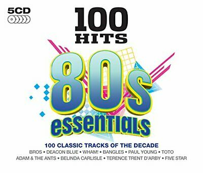 Various Artists - 100 Hits - 80's Essentials - Various Artists CD J4VG The Fast