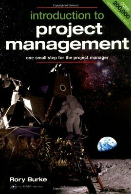 Introduction to Project Management (Cosmic MBA Seri... by Burke, Rory 0958273332