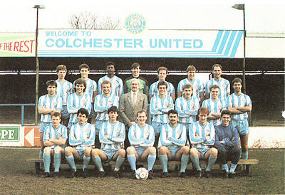 Collection Of #25 Colchester United Football Team Photos