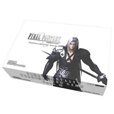 Final Fantasy TCG OPUS 3 III Factory Sealed 36 Count Booster Box