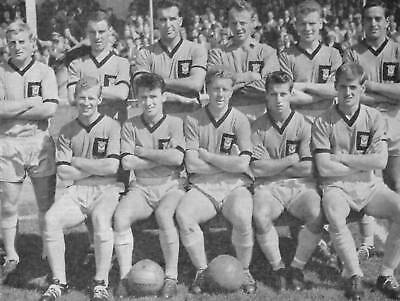 Newport County Football Team Photo>1961-62 Season