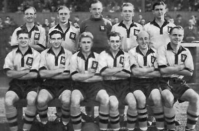 Newport County Football Team Photo>1952-53 Season