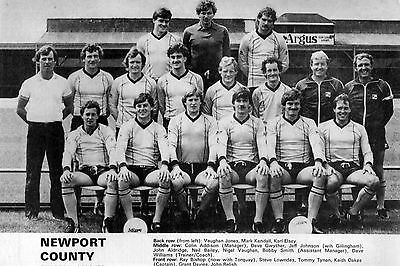 Newport County Football Team Photo>1982-83 Season