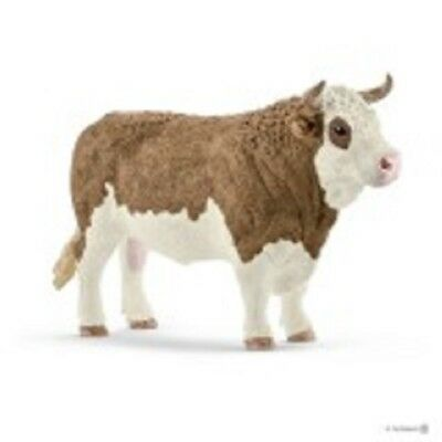 Simmental Bull realistic 13800  Schleich Anywheres a Playground<><