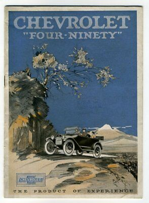 """THE CHEVROLET """"FOUR-NINETY"""" THE PRODUCT OF EXPERIENCE 1916-7? Sales Catalogue"""