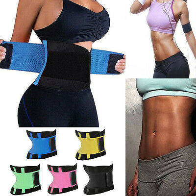 Women Neoprene Slimming Thermo Belt Body Shaper Vest Sweat Waist Cincher Fitness