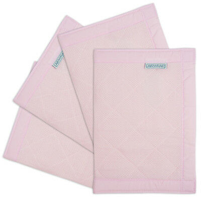 NEW The Little Linen Company - AIRWRAP 4 Sides - Pink