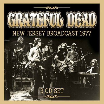 The Grateful Dead : New Jersey Broadcast 1977 CD (2017) ***NEW***