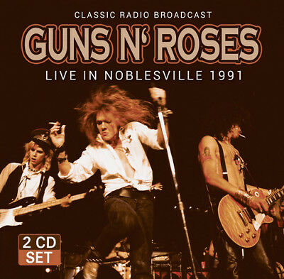 Guns N' Roses : Live in Noblesville 1991 CD (2017) ***NEW***