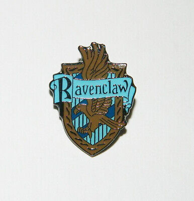 Harry Potter House of Ravenclaw British Crest Logo Metal Enamel Pin NEW UNUSED