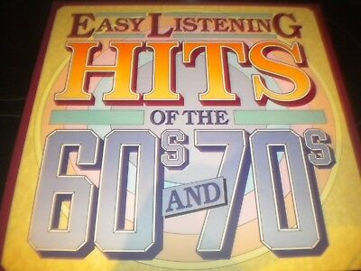 Easy Listening Hits Of The 60s & 70s - 8x Vinyl Record LP Albums - Box Set