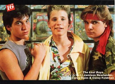 Corey Haim teen magazine pinup clipping 1980 The Lost Boys by magazines
