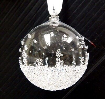 Small Ball Christmas Ornament 2015 Christmas Swarovski   5135841