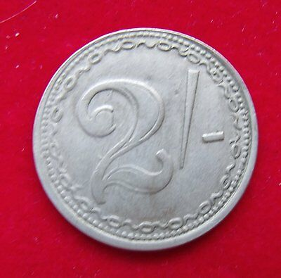 Generic Two Shilling Token Nice example see pictures