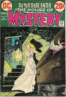 House of Mystery Comic Book #210 DC Comics 1973 VERY FINE
