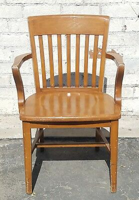Jasper Chair Company Vintage Classic Wooden Chair Brown