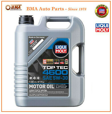 12 liter liqui moly top tec 4605 sae 5w 30 fully synthetic. Black Bedroom Furniture Sets. Home Design Ideas