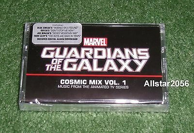 2015 Guardians Of The Galaxy~Cosmic Mix Vol 1~Cassette Tape~From Tv Series~Rsd