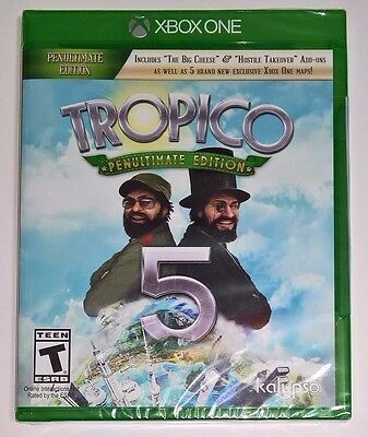 Tropico 5 Penultimate Edition (Xbox One) NEW FACTORY SEALED - Video Game