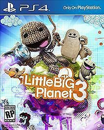 PS4 LittleBigPlanet 3 Little Big Planet NEW SEALED Region FREE USA plays on ALL