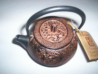 New Unity Tetsubin Cast Iron Tea Kettle With Tag Nice