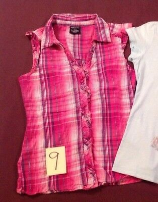 Girls Casual Pink T Shirts Play clothes Size 10/12