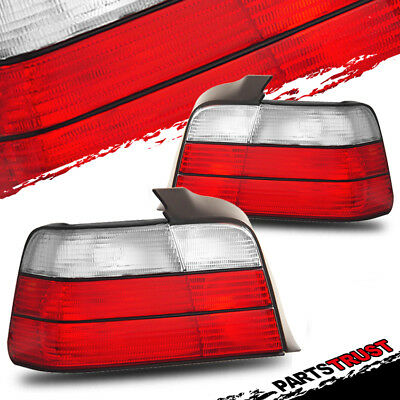 1992 1993 1994 1995 1996 1997 1998 BMW E36 3 Series 4Dr Sedan Tail lights Pair